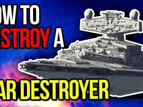 How to DEFEAT a STAR DESTROYER in Star Wars Squadrons