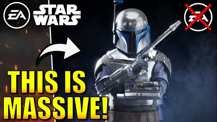 NEW Open World Star Wars Game CONFIRMED!