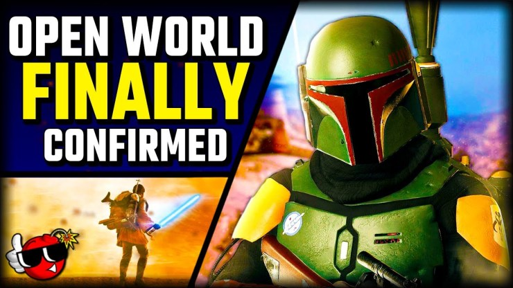 New OPEN WORLD Star Wars Game will be INCREDIBLE