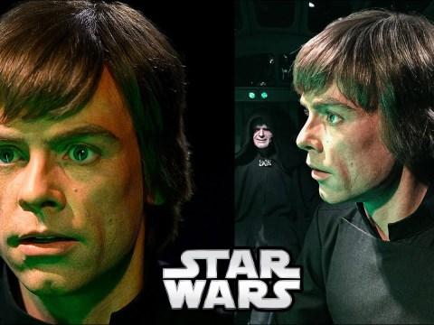 The Return of the Jedi Script with Luke Written to Avoid Spoilers