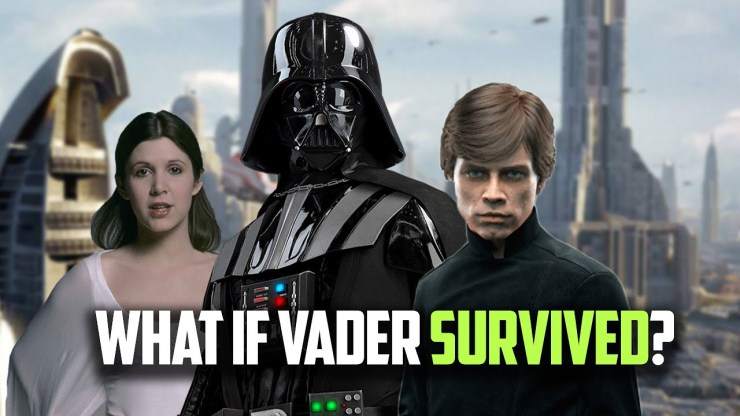 What If Darth Vader Survived The Battle of Endor?