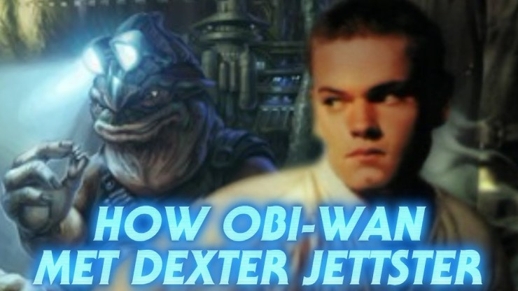 How Obi-Wan Became Friends with Dexter Jettster