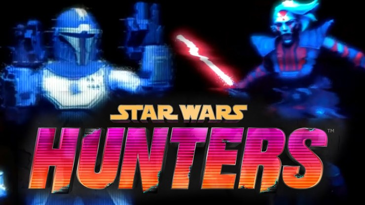 New Arena Combat Game Star Wars Hunters Revealed!
