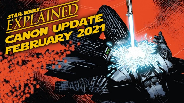 February 2021 Star Wars Canon Update