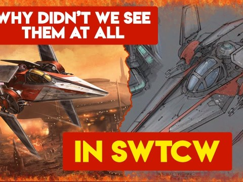 The OP Ship Everyone Forgets About - (The V-Wing)