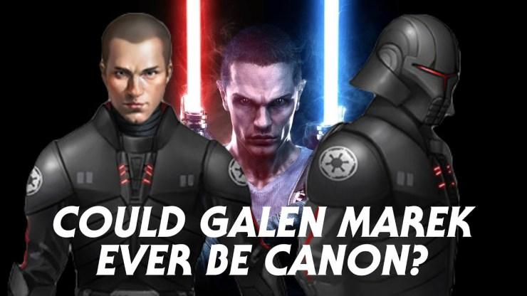 Could Galen Marek (Starkiller) Ever Become Canon?