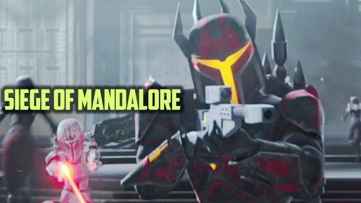 The Siege of Mandalore and Order 66