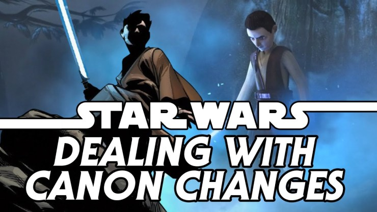 Star Wars: Dealing with Retcons and Canon Changes