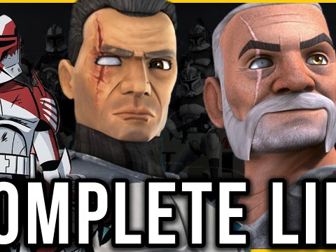 Commander Wolffe CC-3636 | The COMPLETE Life Story