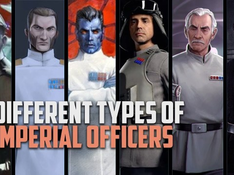 The Six Different Types of Imperial Officers