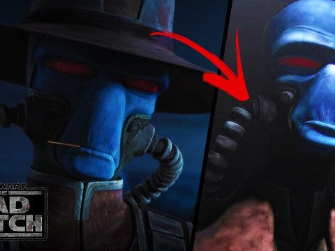 Why CAD BANE Wears Breathing Tubes - The Bad Batch