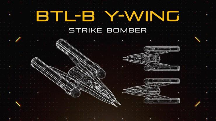 Star Wars: BTL-B Y-Wing   Ship Breakdown