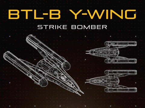 Star Wars: BTL-B Y-Wing | Ship Breakdown