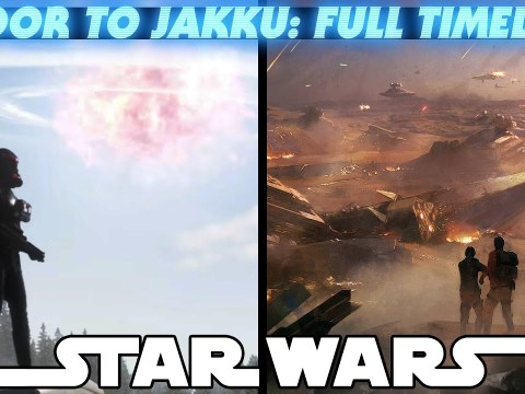 The Fall of the Empire - Battle of Jakku