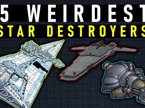 5 Weirdest Star Destroyer in Star Wars Legends
