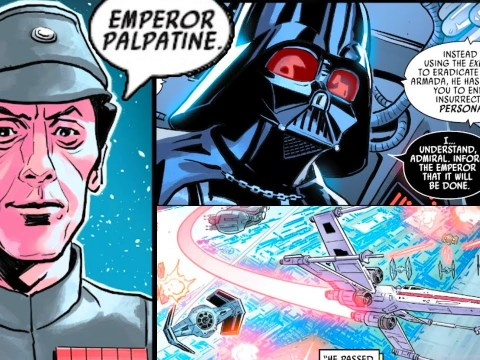ADMIRAL PIETT SNITCHED ON VADER, CALLED PALPATINE