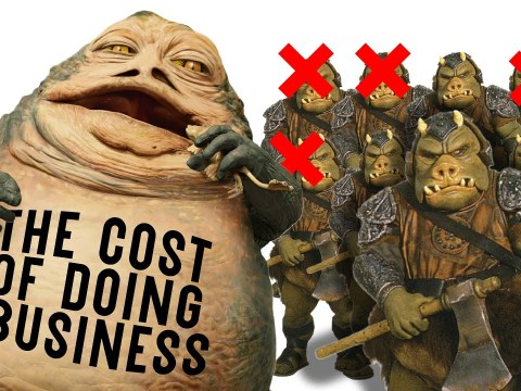 How Many Gammorean Guards Die a Month in Jabba's Palace?