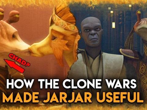 That One GOOD Jar Jar Clone Wars Arc We All Forgot About