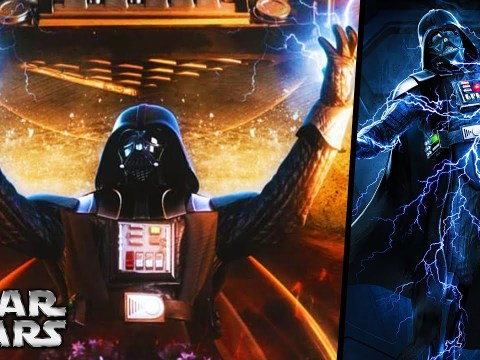 Why Can't Darth Vader Use Force Lightning? - Star Wars