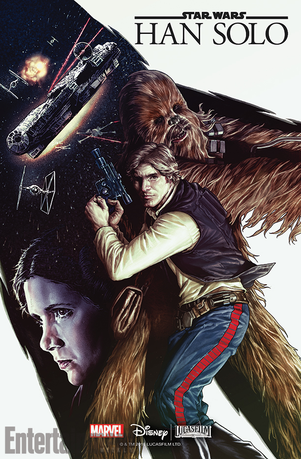 Han Solo Marvel Cover