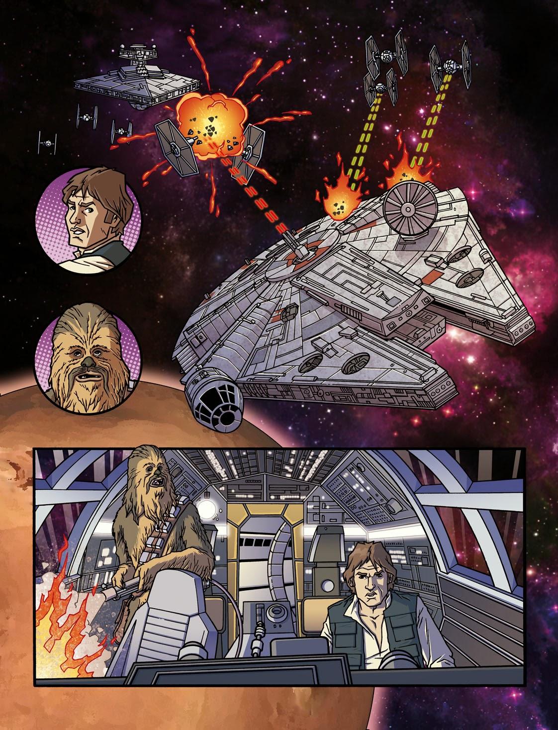 fumetti italiani di star wars bertelè repairs
