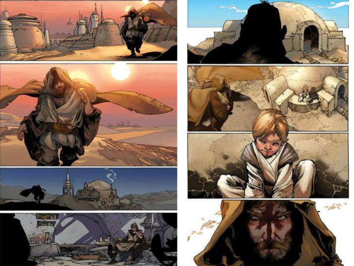 fumetti italiani di star wars bianchi star wars 7