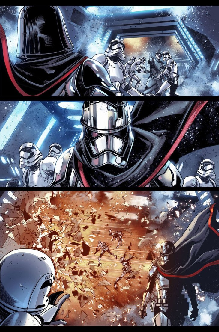 Captain Phasma tavola 2