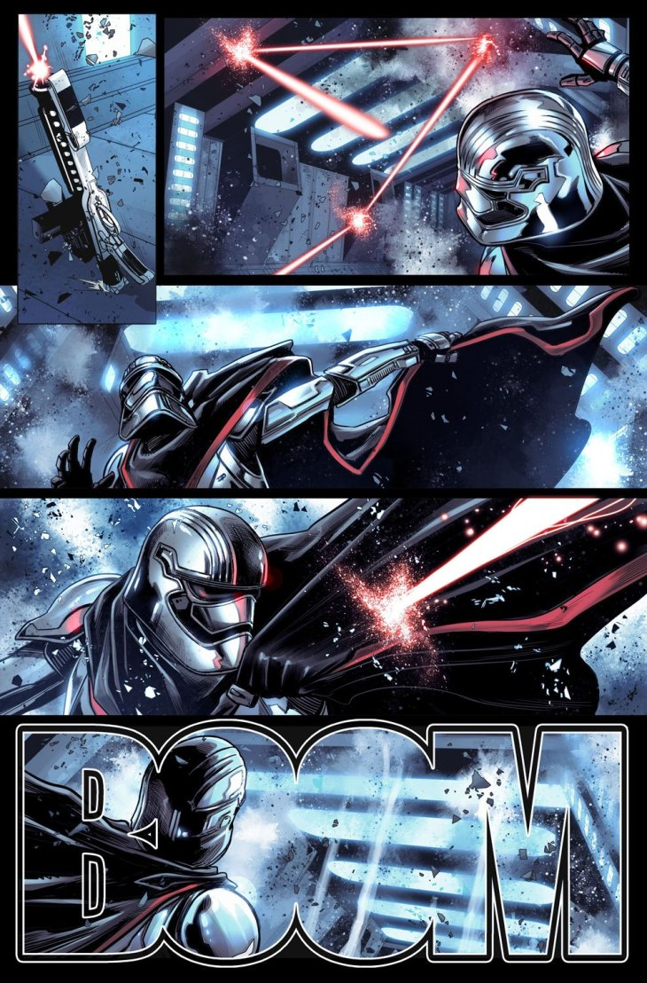 Captain Phasma tavola 3