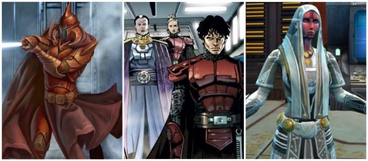 Jedi Grigi, Jensaarai, Cavalieri Imperiali, Mistica Voss