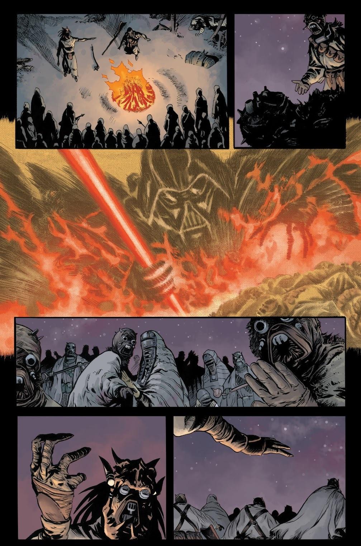 Darth Vader fine dei giochi 23 coda