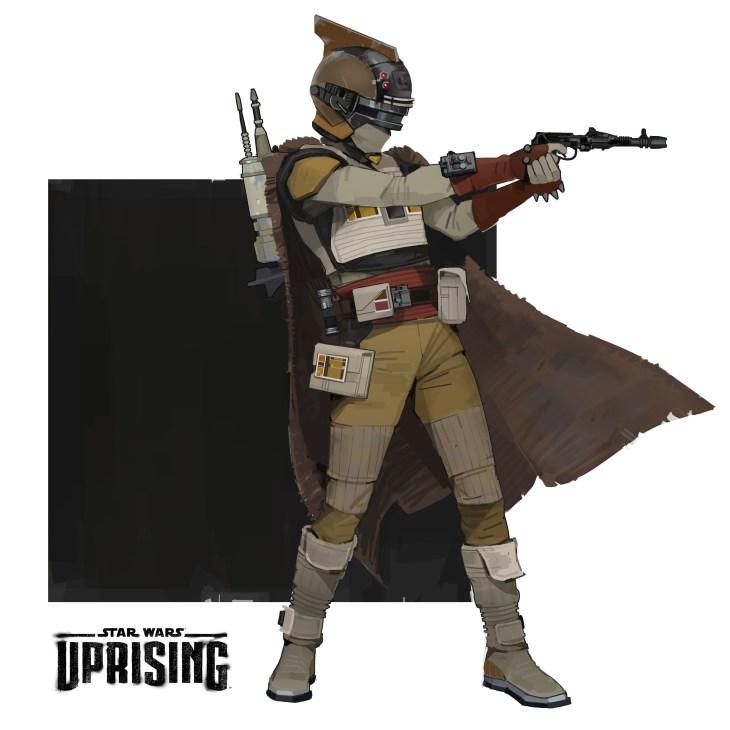 cacciatore di taglie Star Wars: L'Insurrezione
