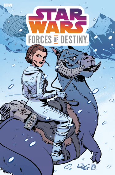 Leia Forces od Destiny IDW