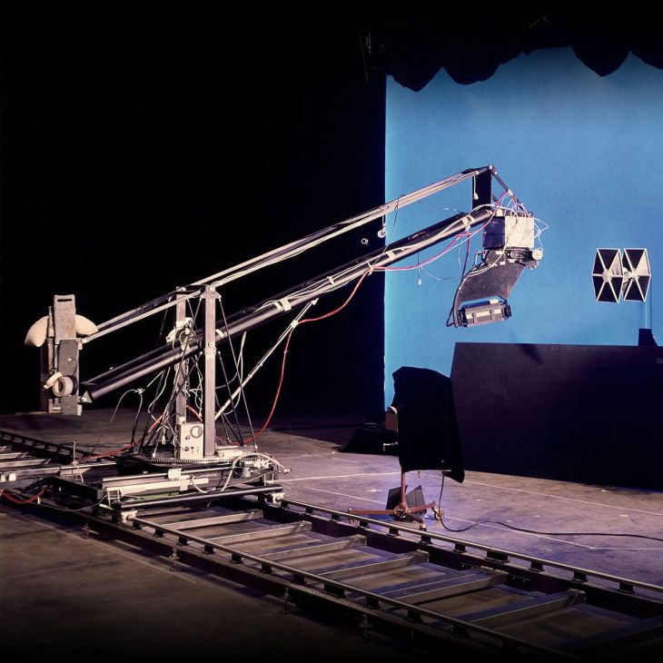 star wars l'epoca lucas motion control camera