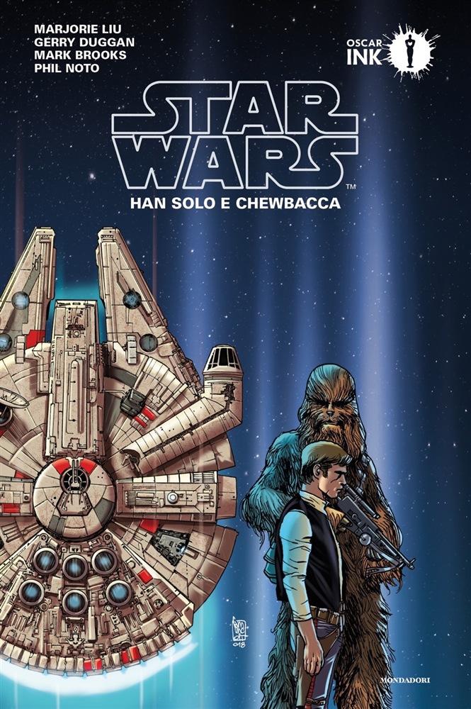 star wars mondadori han solo e chewbacca