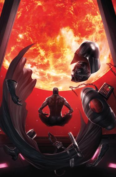 Darth Vader (2017) 8 cover