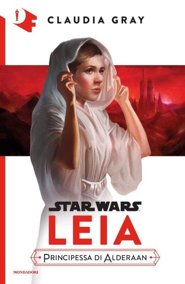 Leia Principessa di Alderaan Mondadori cover