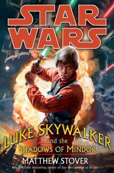 Luke Skywalker and the Shadows of Mindor cover
