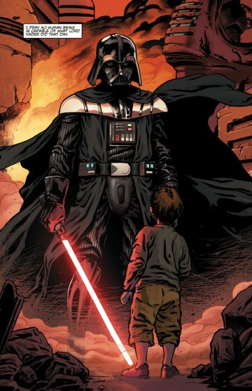 Dart Fener e il Pianto delle Ombre Vader Panini
