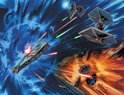 Lando: lascia o raddoppia, combattimento spaziale.