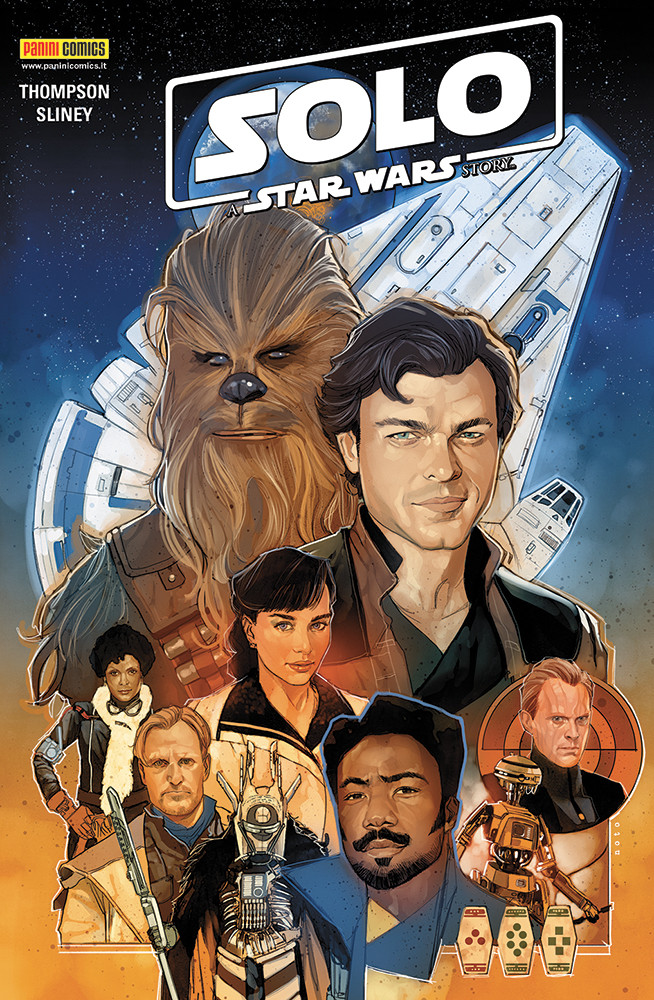 Solo A Star Wars Story Panini cover