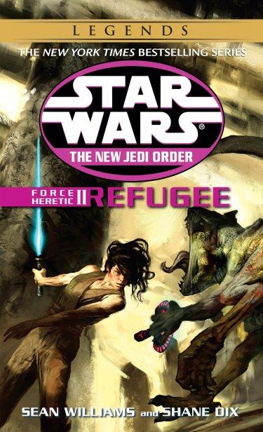 NJO Force Heretic II Refugee cover