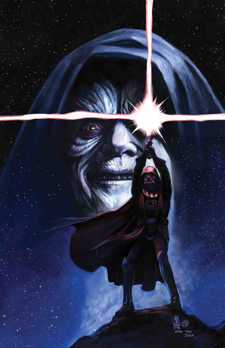 anteprima star wars panini comics darth vader
