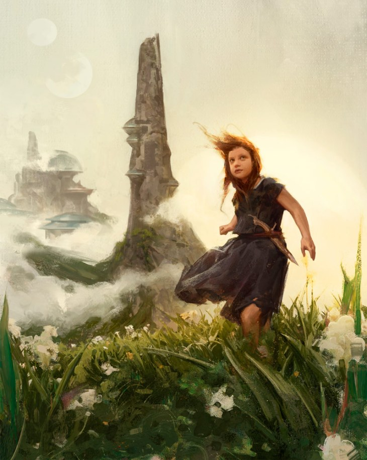 black-spire-painting-myths-fables