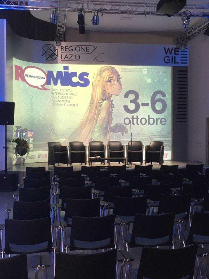 Conferenza Stampa Romics