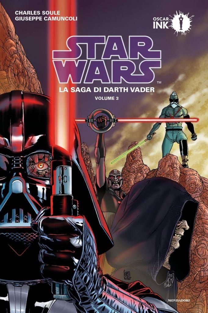 la saga di darth vader vol. 3 copertina