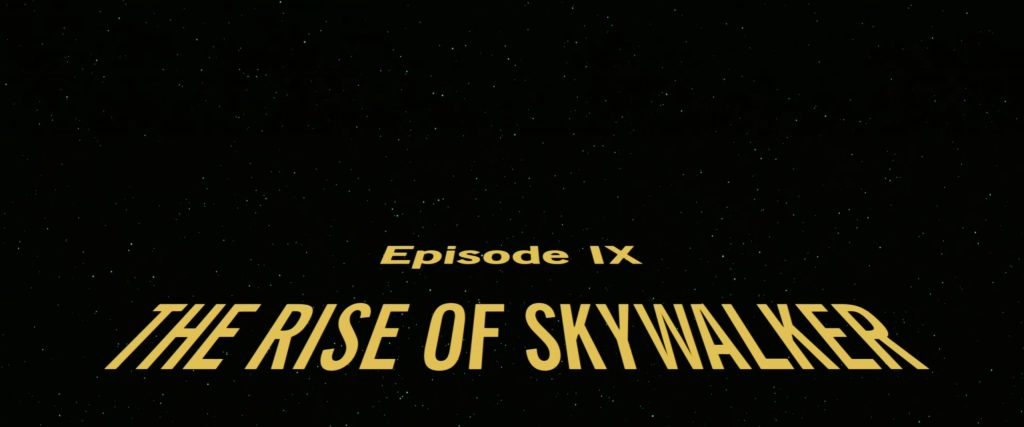 4K – Star Wars: Episode IX – The Rise of Skywalker (2019)