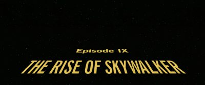 4K – Star Wars: Episode IX – The Rise of Skywalker (2019)