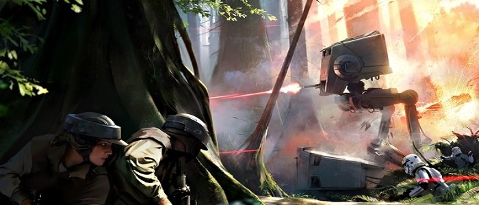 New Star Wars: Battlefront Concept Art Released