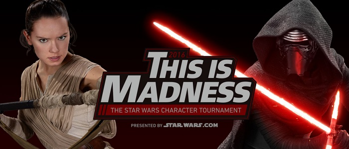 This Is Madness 2016: The Star Wars Character Tournament Is Back On March 14th!