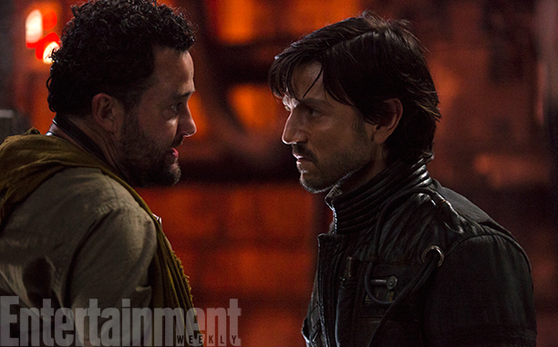 Rogue One: A Star Wars Story (2016)Tivik (L) and Diego Luna